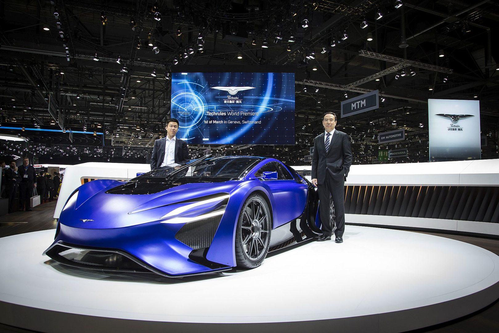 Techrules - Geneva Motor Show 2016