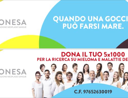 5 × 1000 an die Fonesa Stiftung Blut Neoplasie