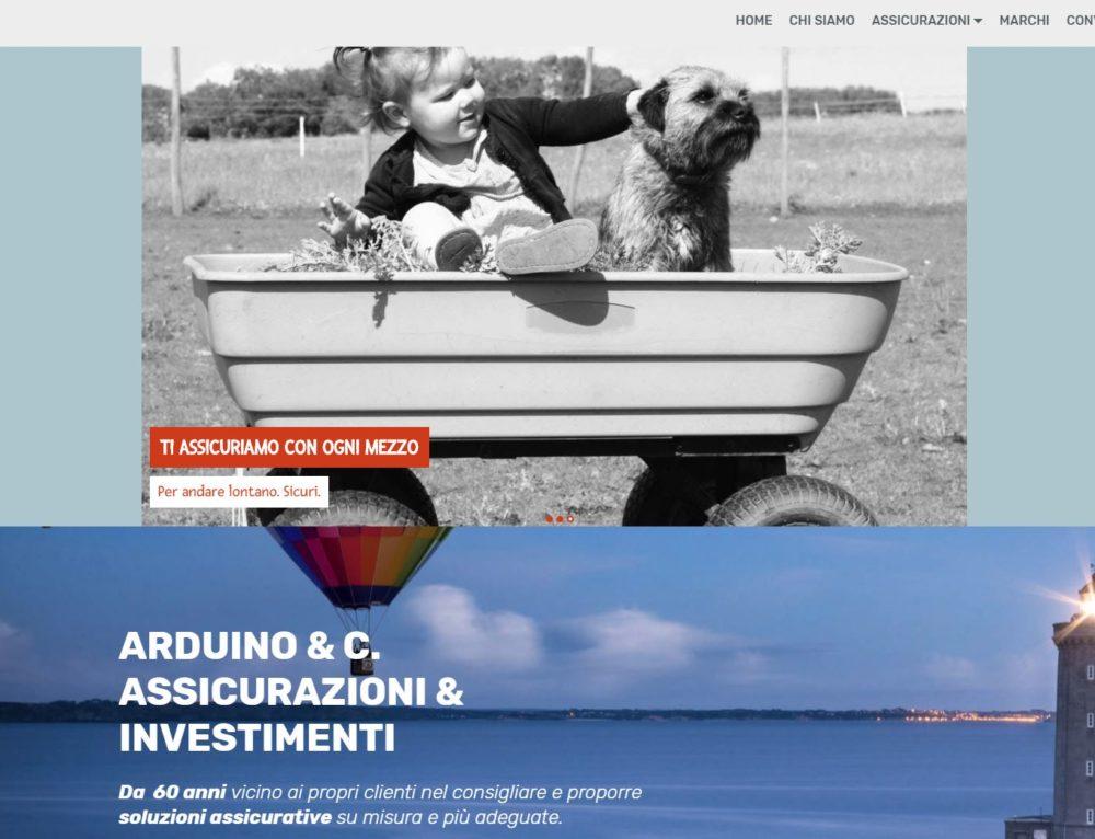 Arduino Insurance website