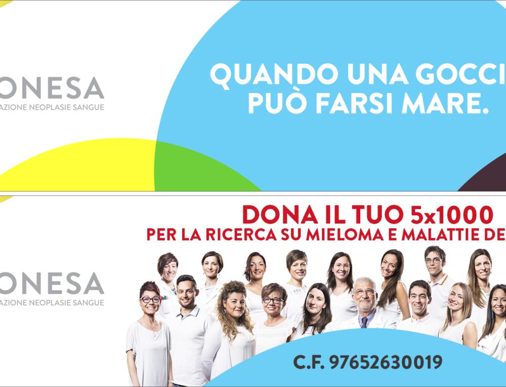 5 × 1000 to Fonesa, Blood Neoplasies Foundation