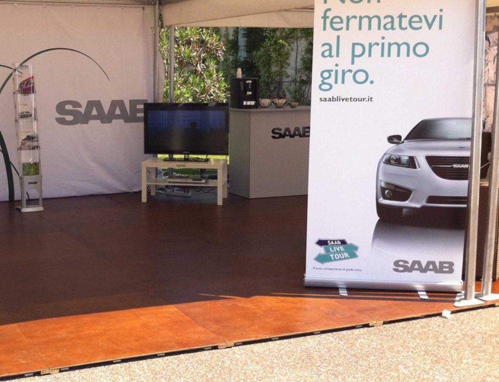 Saab Live Tour