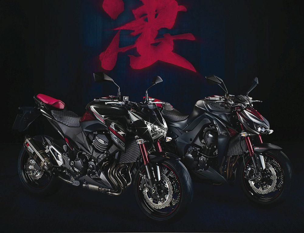 Kawasaki Z1000 e Z800 Sugomi Edition