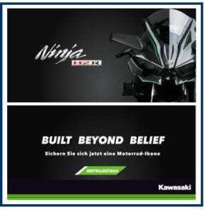 Anicecommunication - Realizzazione Banner Web per Kawasaki