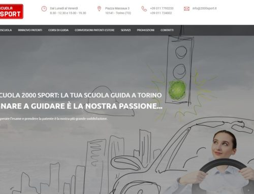 Content Optimization & SEO per Autoscuola 2000 Sport