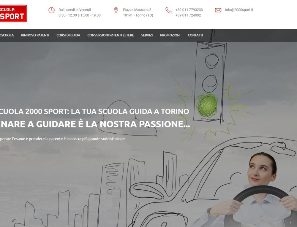 Content Optimization & SEO per Autoscuola 2000