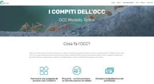 OCC Modello Torino - sito internet realizzato dall'agenzia torinese Anice