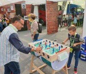 Idee arredamento con fusti olio Petronas - il calciobalilla
