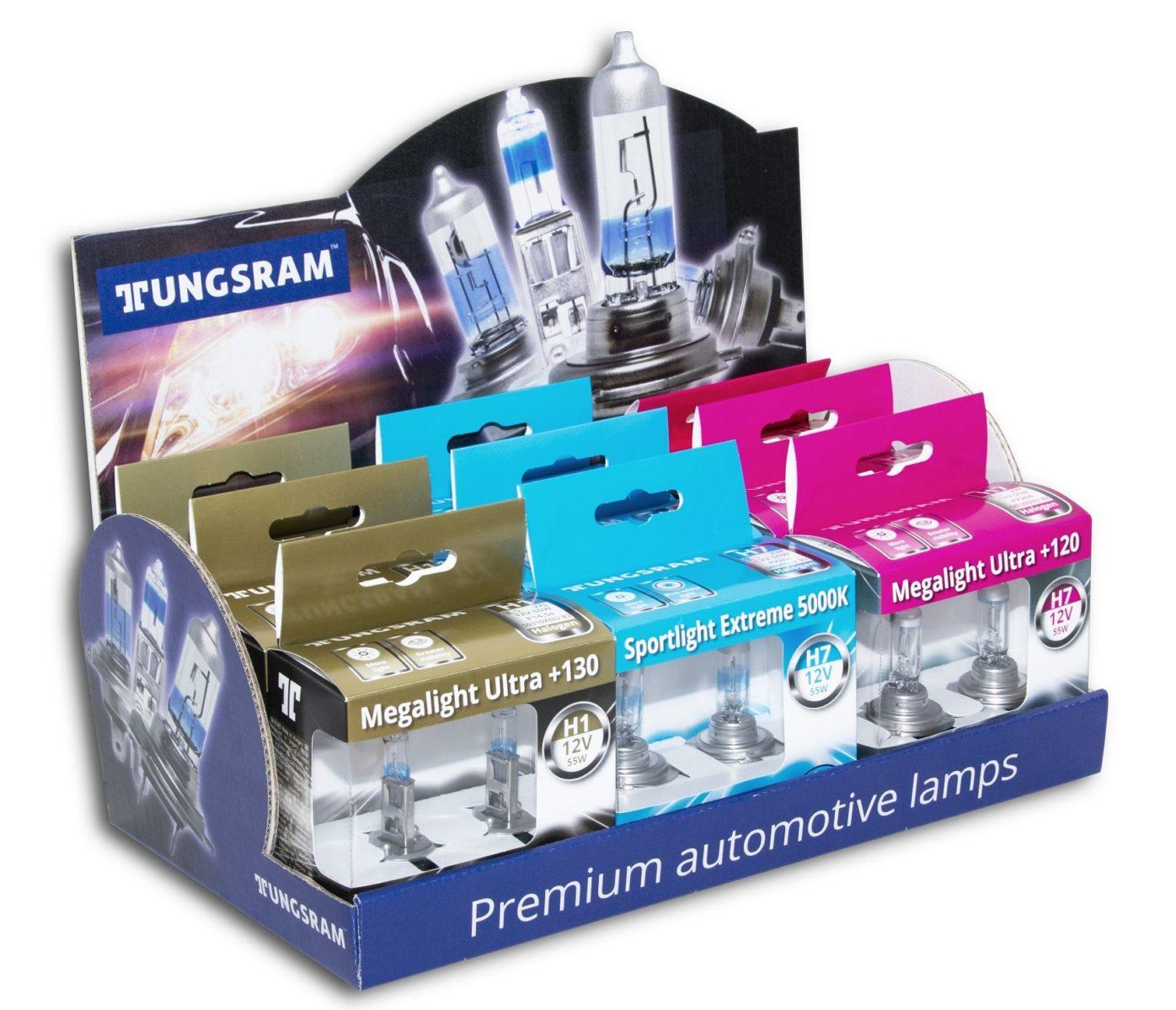 Tungsram, lampadine automotive di qualità