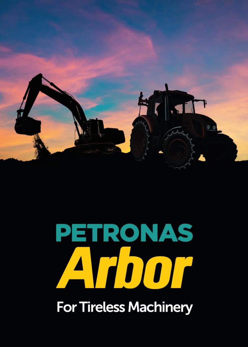 PETRONAS Arbor: lubrificanti per macchine agricole e movimento terra