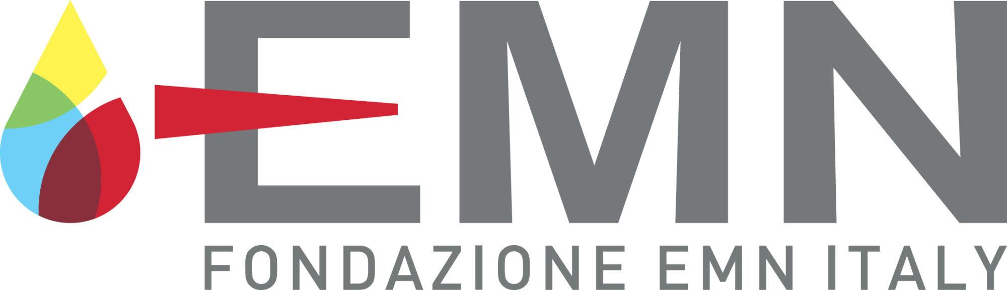 Nuovo logo Fondazione EMN Italy Onlus