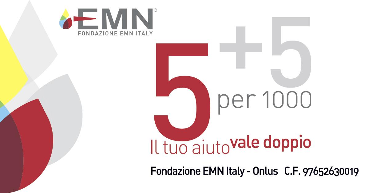 Dona il tuo 5x1000 alla Fondazione EMN Italy Onlus
