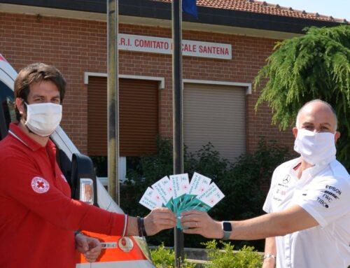 Petronas a sostegno della Croce Rossa di Piemonte e Lombardia