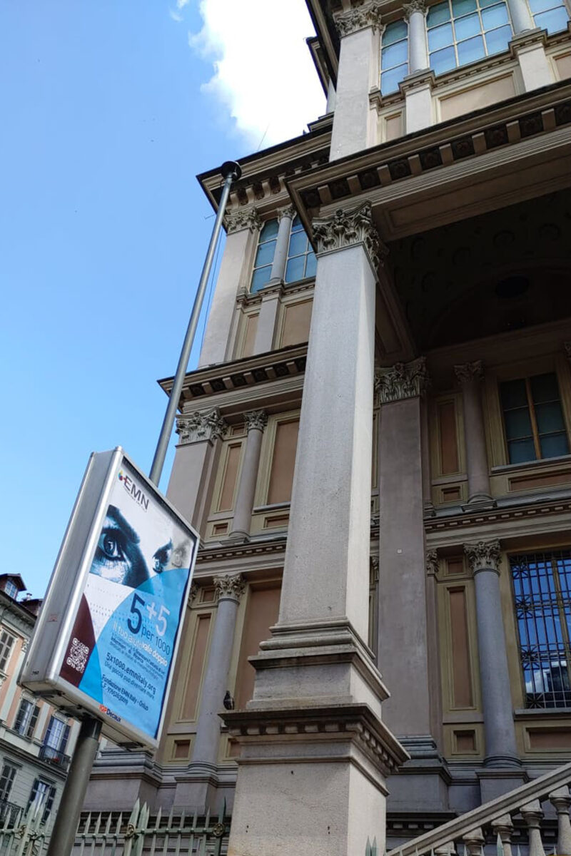 Campagna pubblicitaria 5x1000 Fondazione EMN Italy Onlus