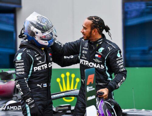 Wolff, Hamilton e Bottas: grazie PETRONAS! per la 7a vittoria in F1