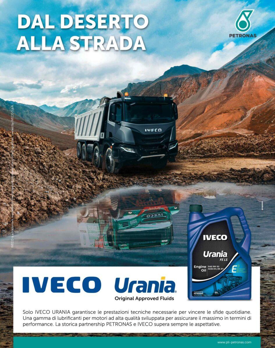 Campagna pubblicitaria PETRONAS Iveco Urania