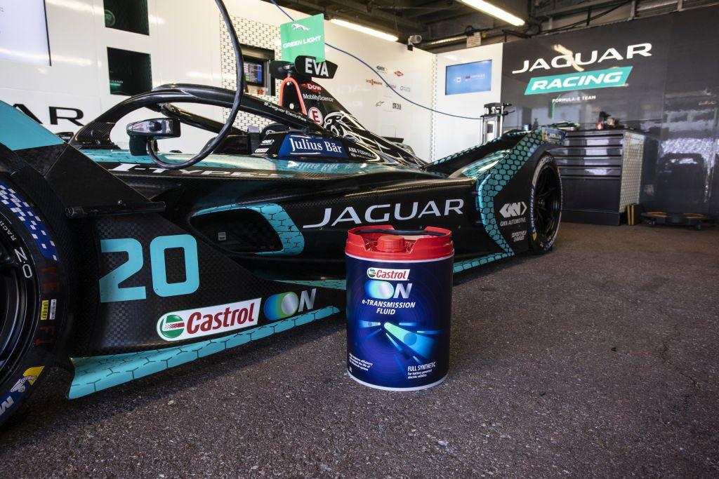 Castrol e Jaguar Racing