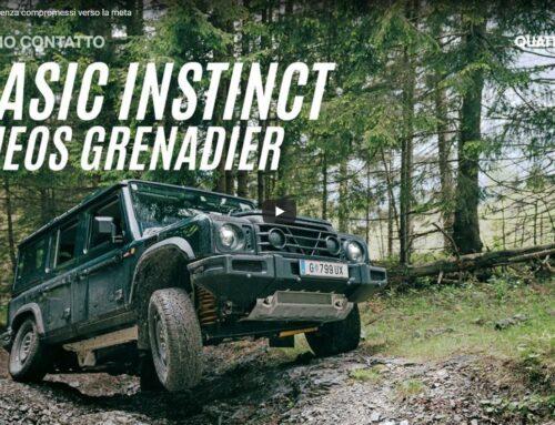 INEOS Grenadier: testing and development drive a Graz