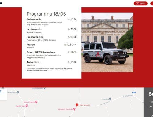 Form Adesione Online – INEOS Grenadier