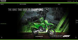 Piattaforma web Kawasaki - agenzia siti internet Torino