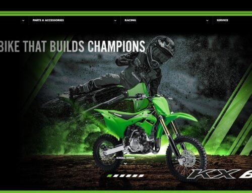 Kawasaki: online i primi modelli MY22