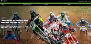 Kawasaki Racing 2021 aggiornamento contenuti sito internet - Anice web agency Torino