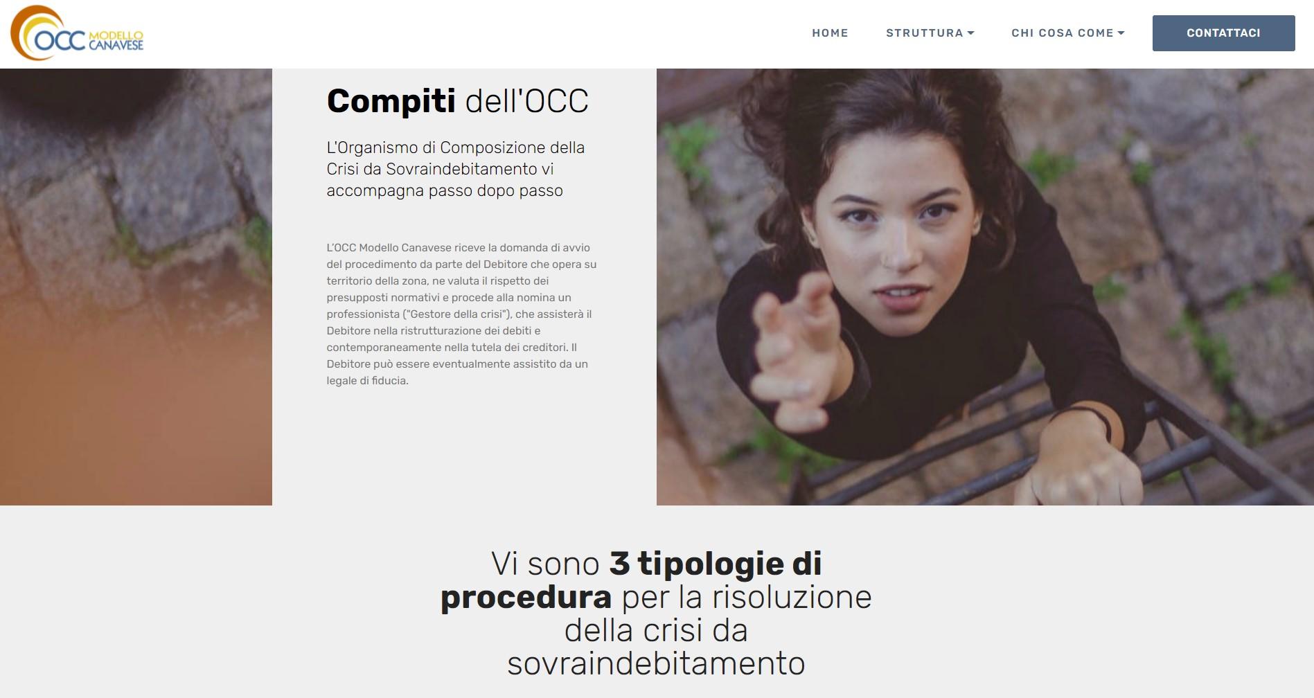 Occ del Canvese - sito internet
